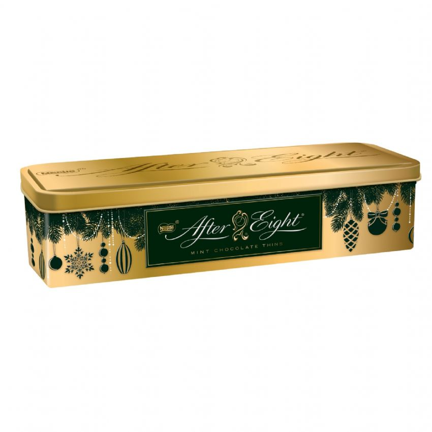 After Eight Mint Chocolates Christmas Gift Tin Nestle 400g